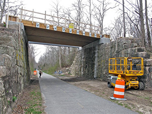 Palmer Avenue Bridge Reconstruction project