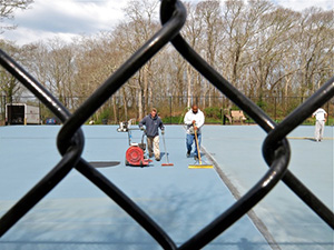 West Falmouth Tennis Courts opening