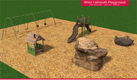 West Falmouth new Playground